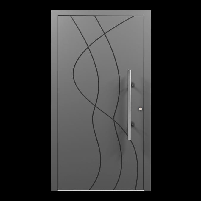 Drzwi zewnętrzne aluminiowe wzór-NT-14N