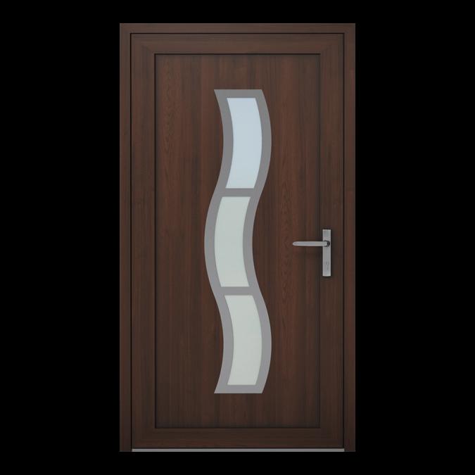 Drzwi zewnętrzne PVC wzór-NT-14W