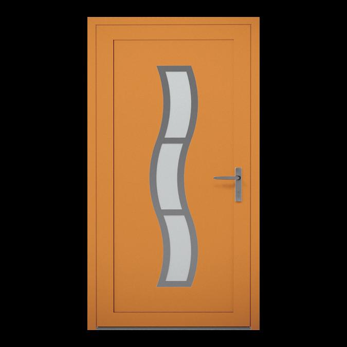 Drzwi zewnętrzne aluminiowe wzór-NT-14W
