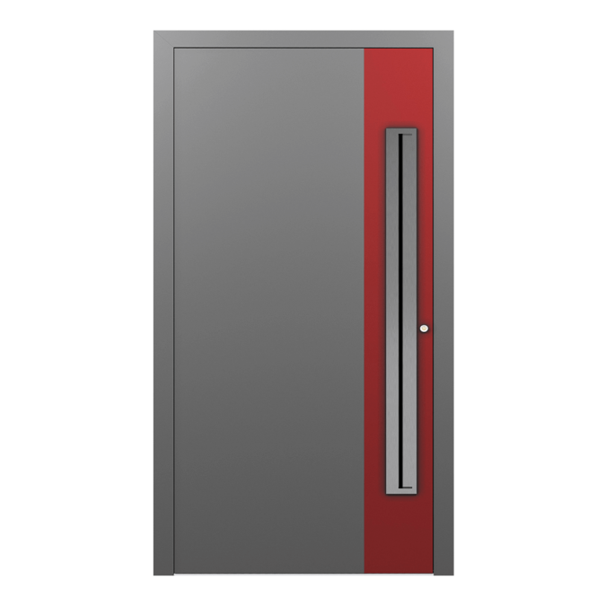 Drzwi zewnętrzne aluminiowe wzór-NT-15N