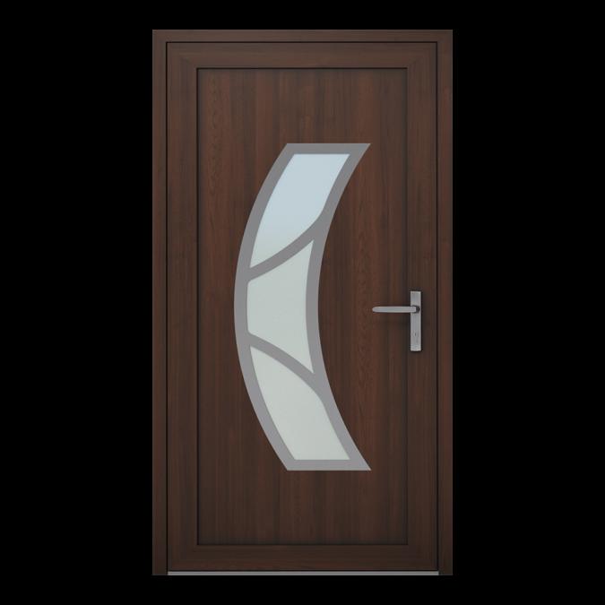 Drzwi zewnętrzne PVC wzór-NT-15W