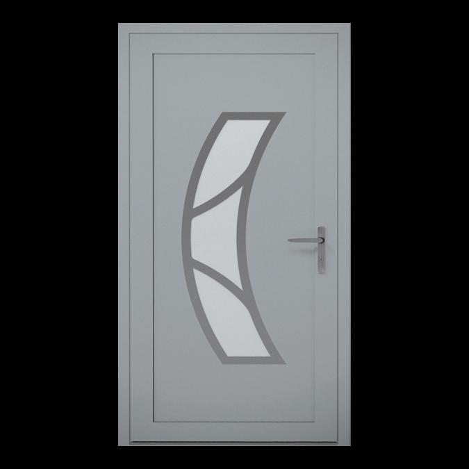 Drzwi zewnętrzne aluminiowe wzór-NT-15W