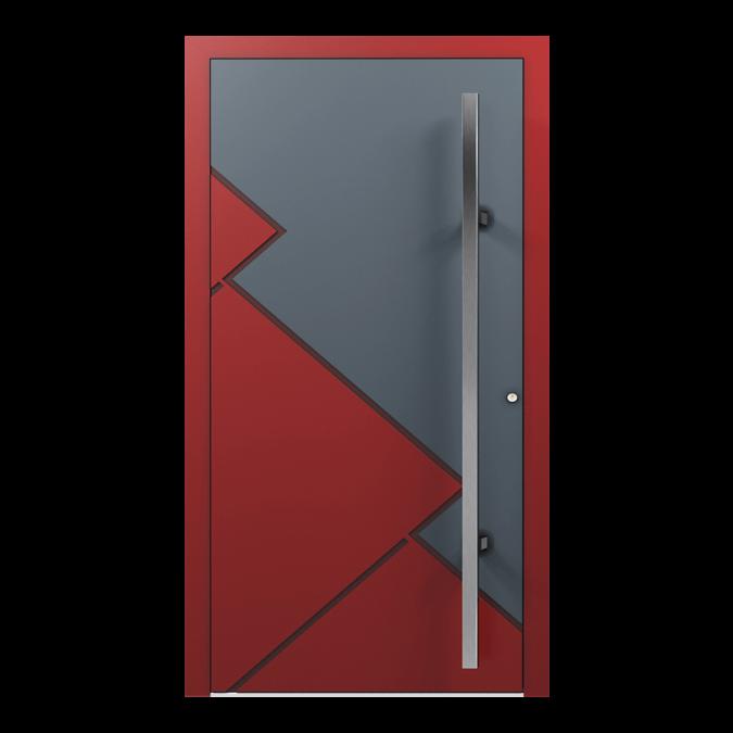 Drzwi zewnętrzne aluminiowe wzór-NT-16N