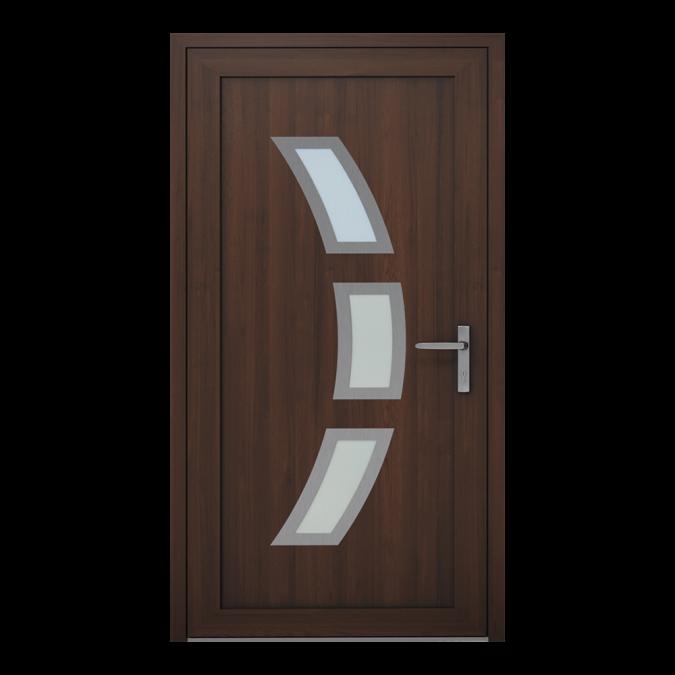 Drzwi zewnętrzne PVC wzór-NT-16W