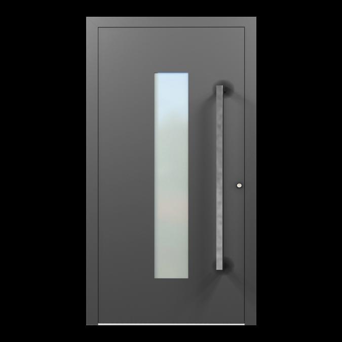 Drzwi zewnętrzne aluminiowe wzór-NT-17N