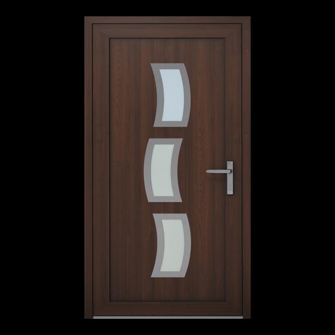 Drzwi zewnętrzne PVC wzór-NT-17W