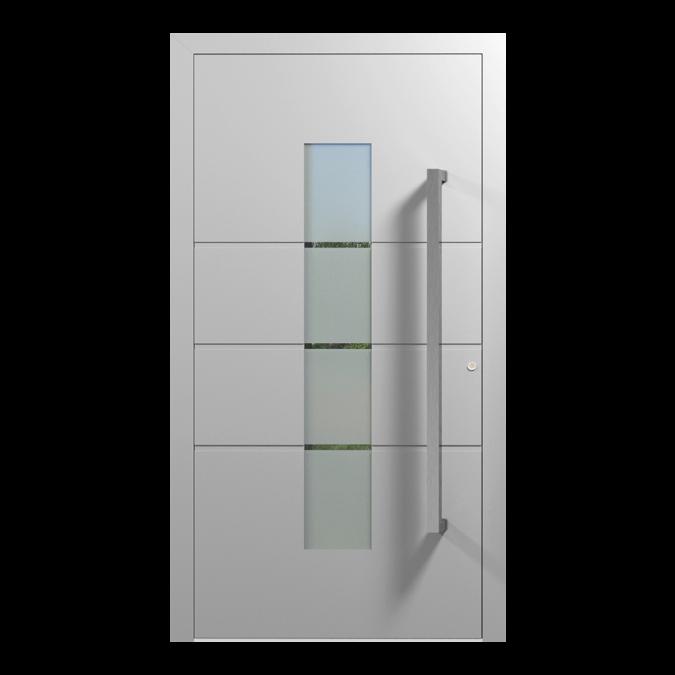 Drzwi zewnętrzne aluminiowe wzór-NT-18N