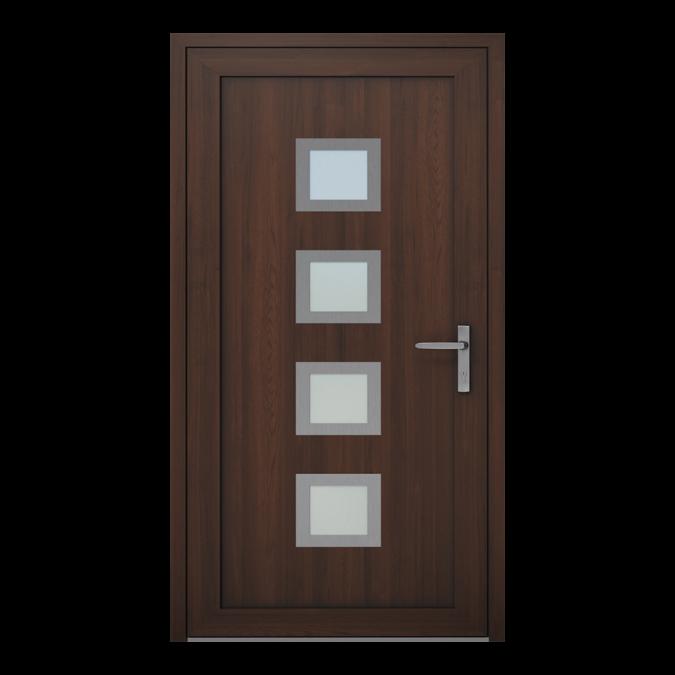 Drzwi zewnętrzne PVC wzór-NT-18W