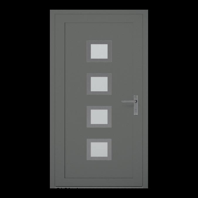 Drzwi zewnętrzne aluminiowe wzór-NT-18W