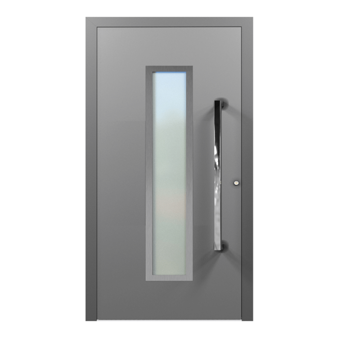 Drzwi zewnętrzne aluminiowe wzór-NT-19N