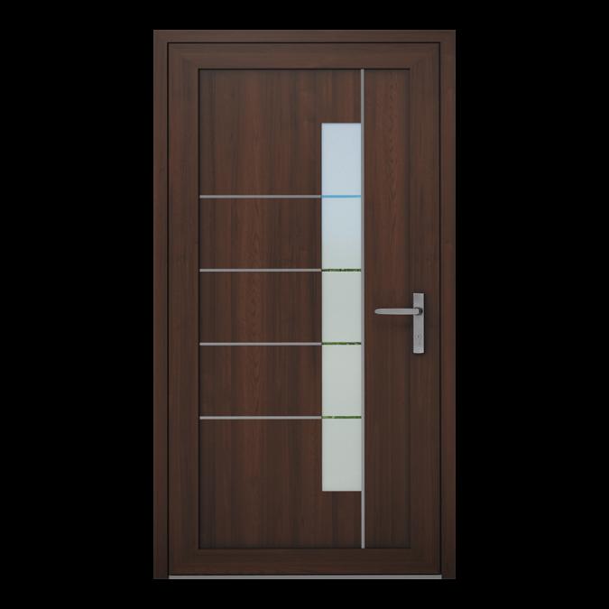 Drzwi zewnętrzne PVC wzór-NT-19W