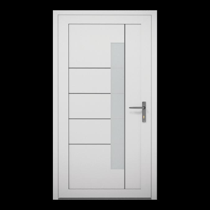 Drzwi zewnętrzne aluminiowe wzór-NT-19W