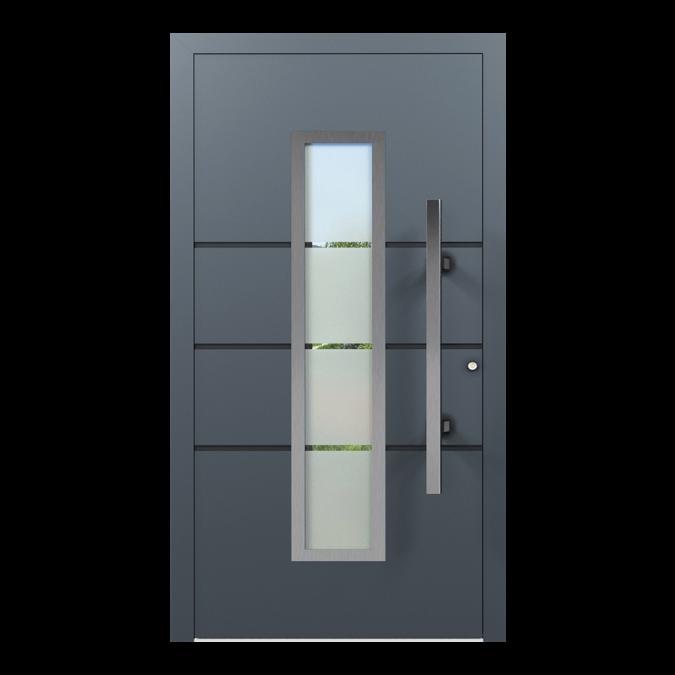 Drzwi zewnętrzne aluminiowe wzór-NT-20N