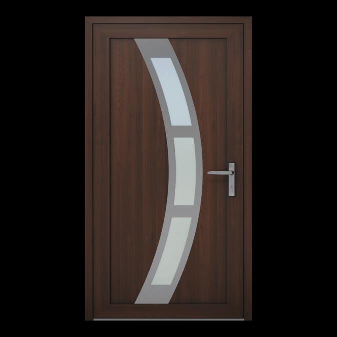 Drzwi zewnętrzne PVC wzór-NT-20W