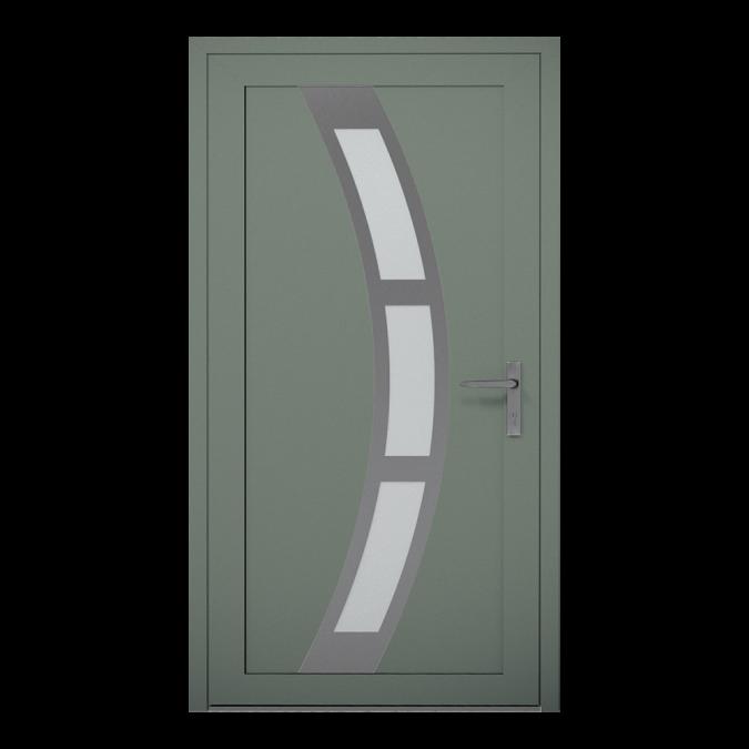 Drzwi zewnętrzne aluminiowe wzór-NT-20W