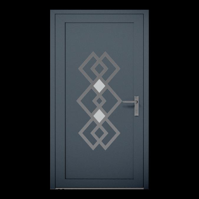 Drzwi zewnętrzne aluminiowe wzór-NT-21W