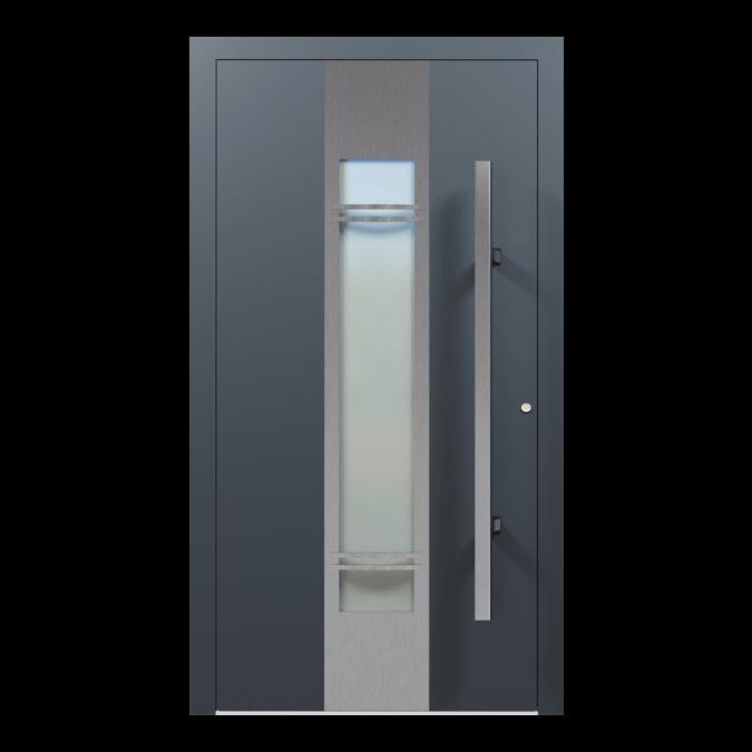 Drzwi zewnętrzne aluminiowe wzór-NT-22N