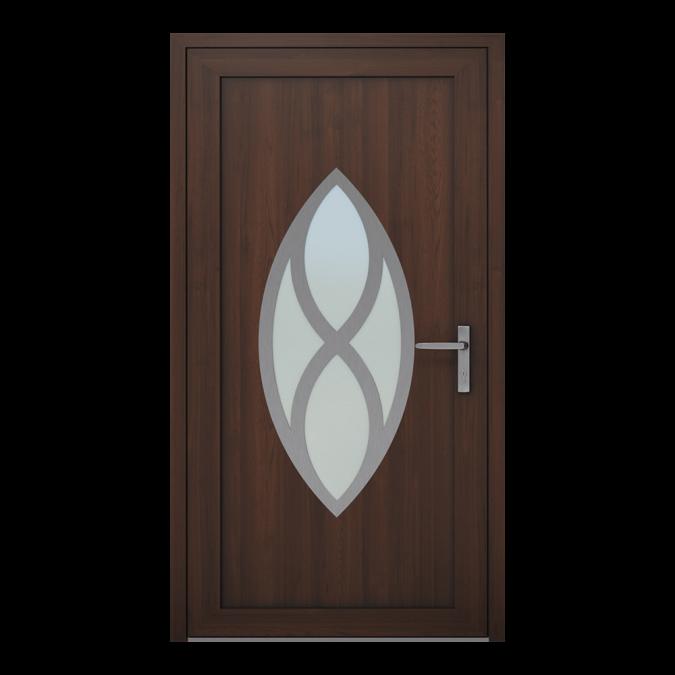 Drzwi zewnętrzne PVC wzór-NT-22W
