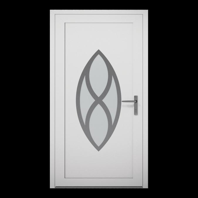 Drzwi zewnętrzne aluminiowe wzór-NT-22W