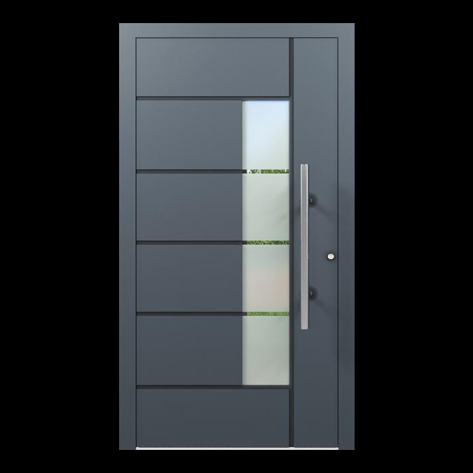Drzwi zewnętrzne aluminiowe wzór-NT-23N
