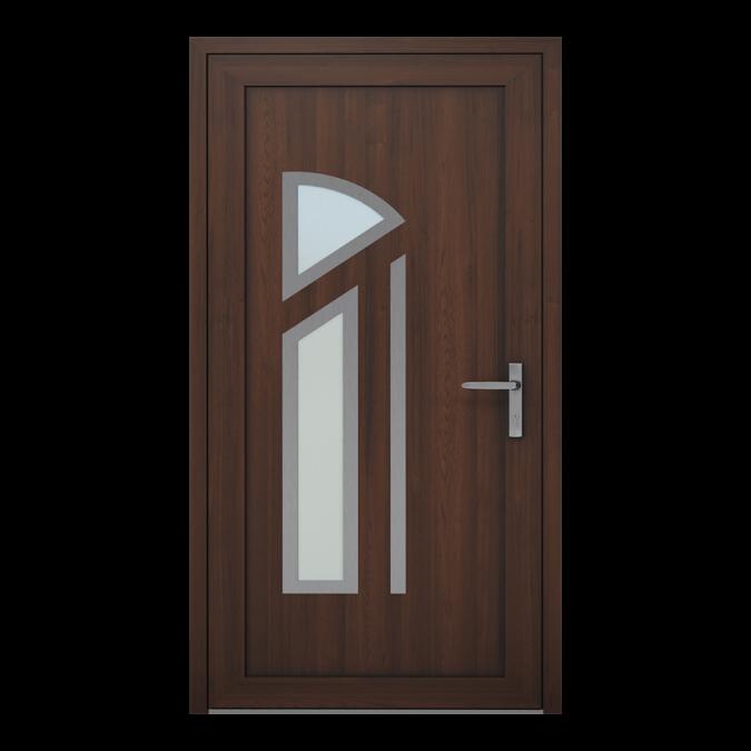 Drzwi zewnętrzne PVC wzór-NT-23W