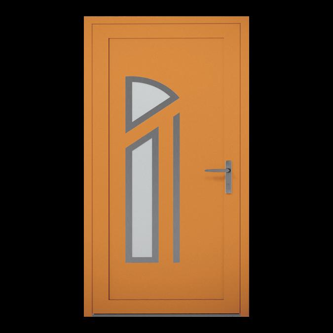 Drzwi zewnętrzne aluminiowe wzór-NT-23W