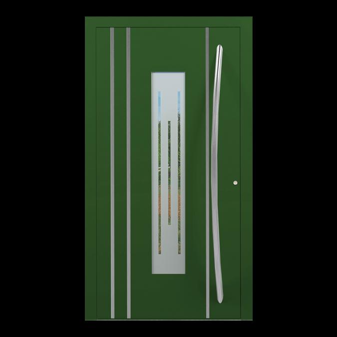 Drzwi zewnętrzne aluminiowe wzór-NT-24N