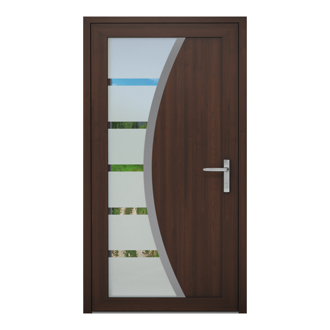 Drzwi zewnętrzne PVC wzór-NT-24W