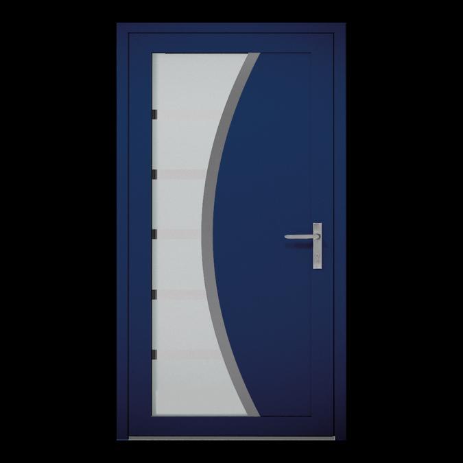 Drzwi zewnętrzne aluminiowe wzór-NT-24W