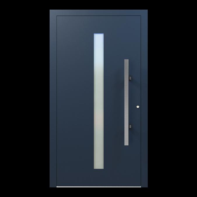 Drzwi zewnętrzne aluminiowe wzór-NT-25N