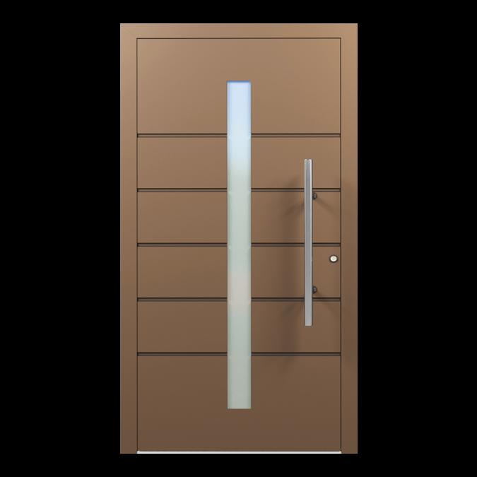 Drzwi zewnętrzne aluminiowe wzór-NT-26N