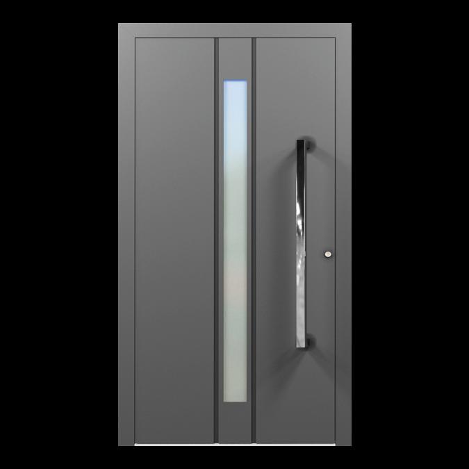 Drzwi zewnętrzne aluminiowe wzór-NT-27N