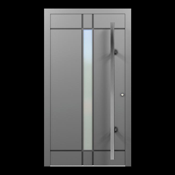 Drzwi zewnętrzne aluminiowe wzór-NT-29N