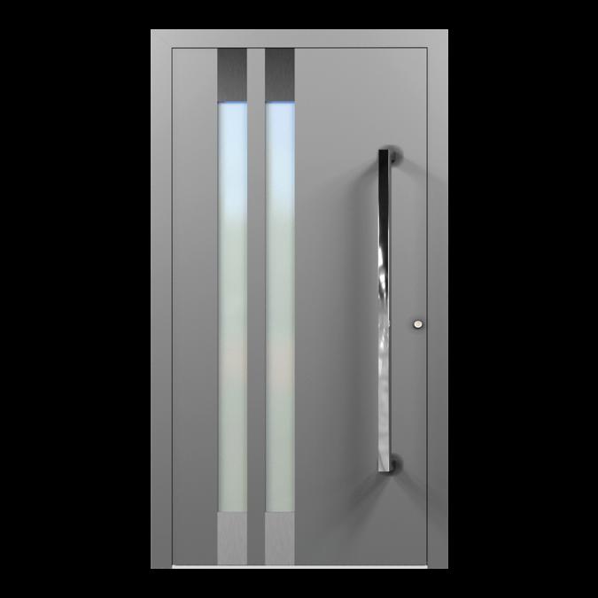 Drzwi zewnętrzne aluminiowe wzór-NT-30N