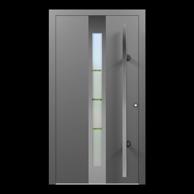 Drzwi zewnętrzne aluminiowe wzór-NT-31N