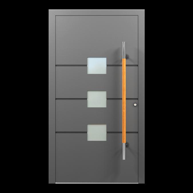 Drzwi zewnętrzne aluminiowe wzór-NT-33N