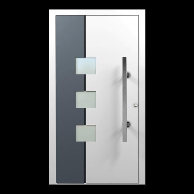 Drzwi zewnętrzne aluminiowe wzór-NT-34N