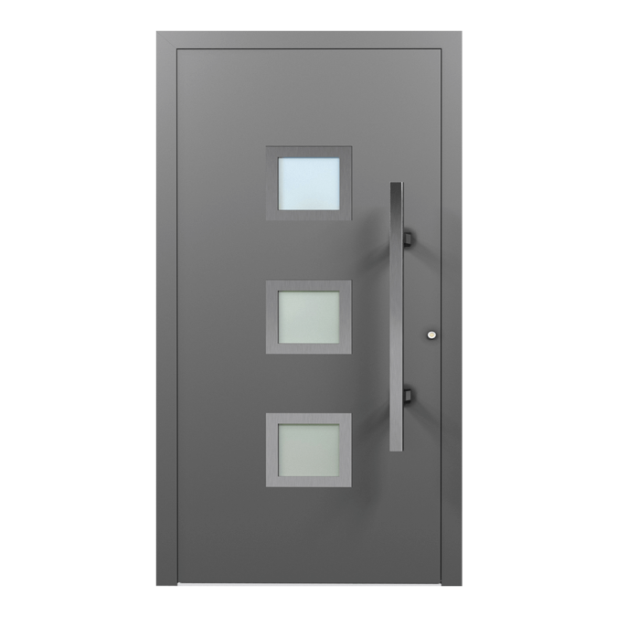 Drzwi zewnętrzne aluminiowe wzór-NT-35N