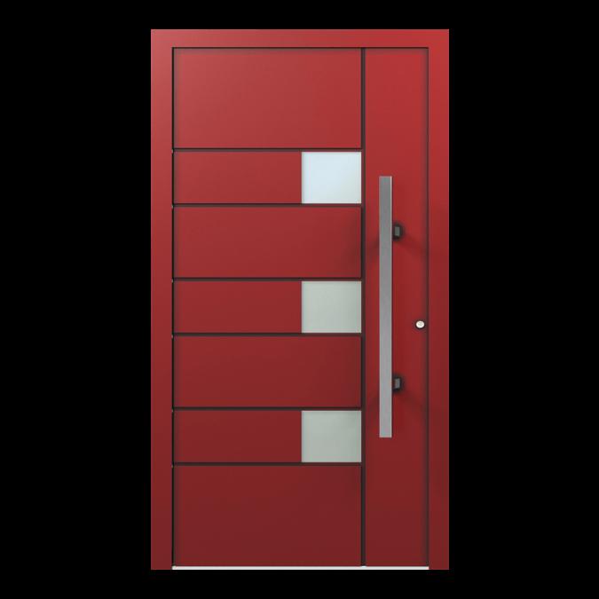 Drzwi zewnętrzne aluminiowe wzór-NT-36N