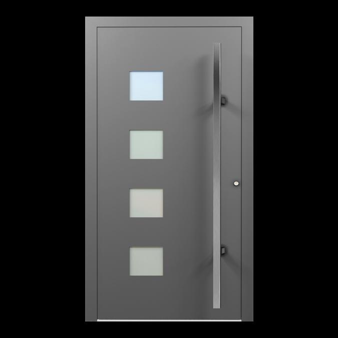 Drzwi zewnętrzne aluminiowe wzór-NT-37N