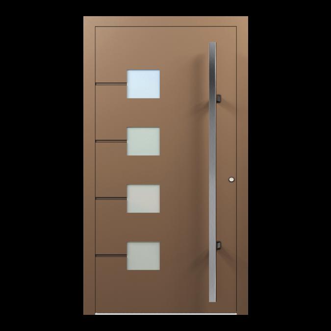 Drzwi zewnętrzne aluminiowe wzór-NT-38N