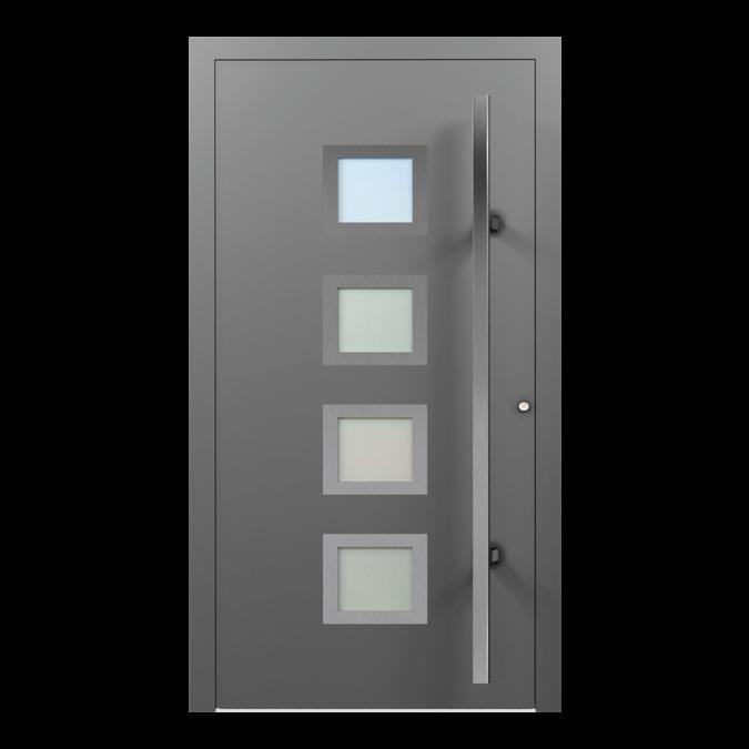 Drzwi zewnętrzne aluminiowe wzór-NT-39N