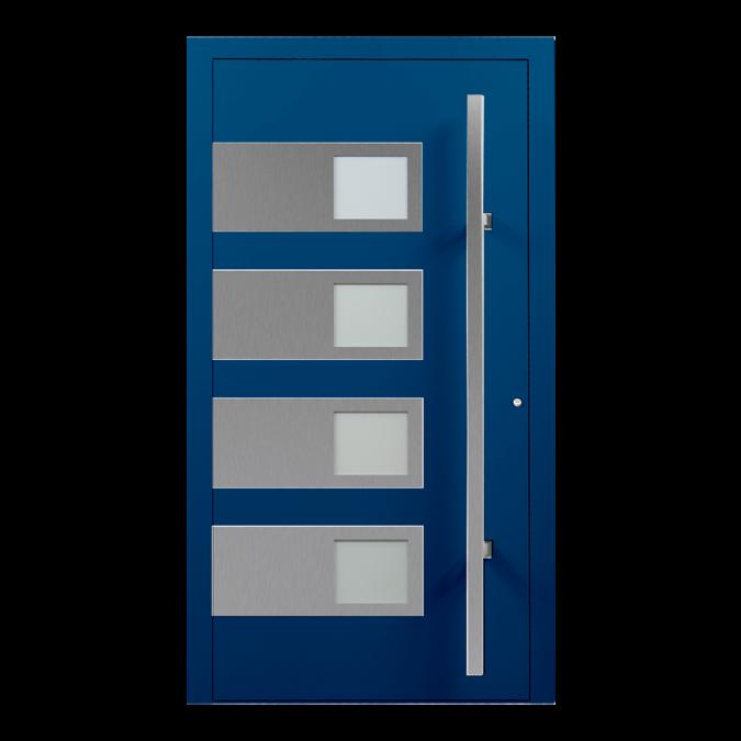 Drzwi zewnętrzne aluminiowe wzór-NT-40N