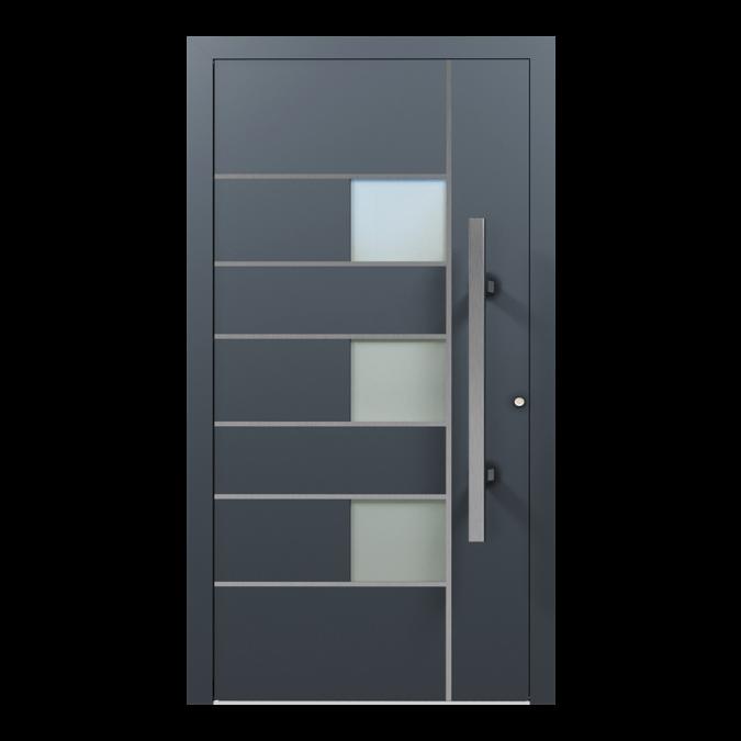Drzwi zewnętrzne aluminiowe wzór-NT-41N