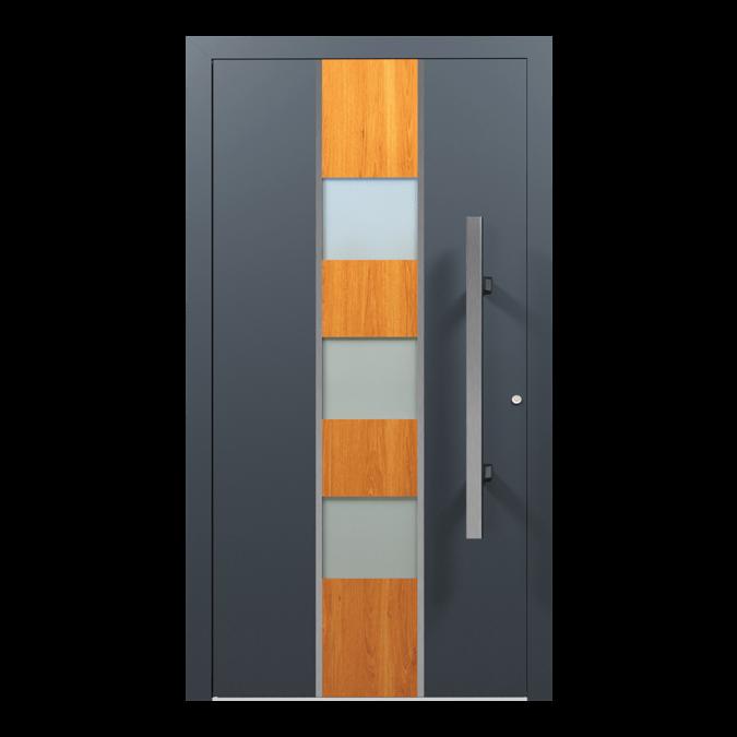 Drzwi zewnętrzne aluminiowe wzór-NT-42N