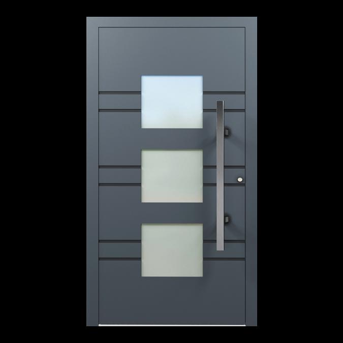 Drzwi zewnętrzne aluminiowe wzór-NT-43N