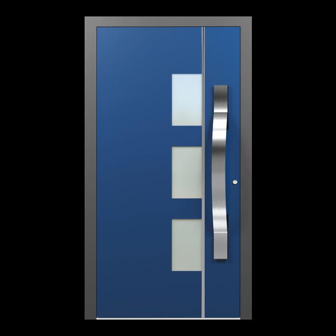 Drzwi zewnętrzne aluminiowe wzór-NT-45N