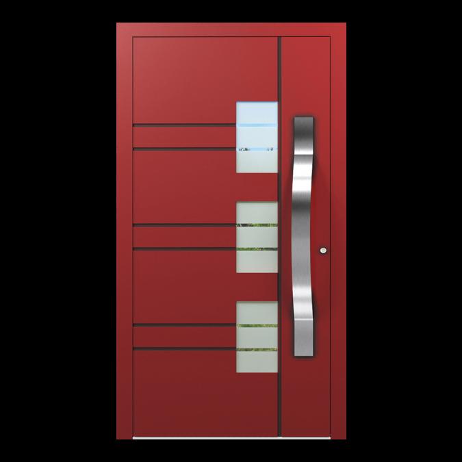 Drzwi zewnętrzne aluminiowe wzór-NT-47N