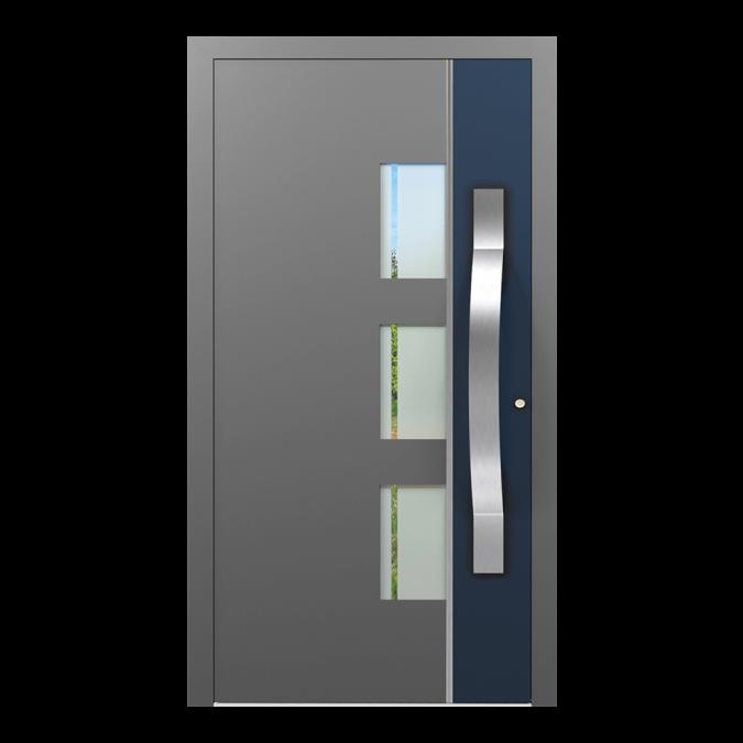 Drzwi zewnętrzne aluminiowe wzór-NT-48N
