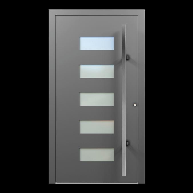 Drzwi zewnętrzne aluminiowe wzór-NT-49N